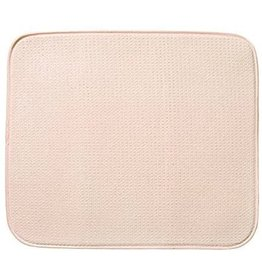 Envision Dish Drying Mat, Cream
