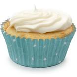 Fox Run Foil Lined Bake Cups, Elegant Blue