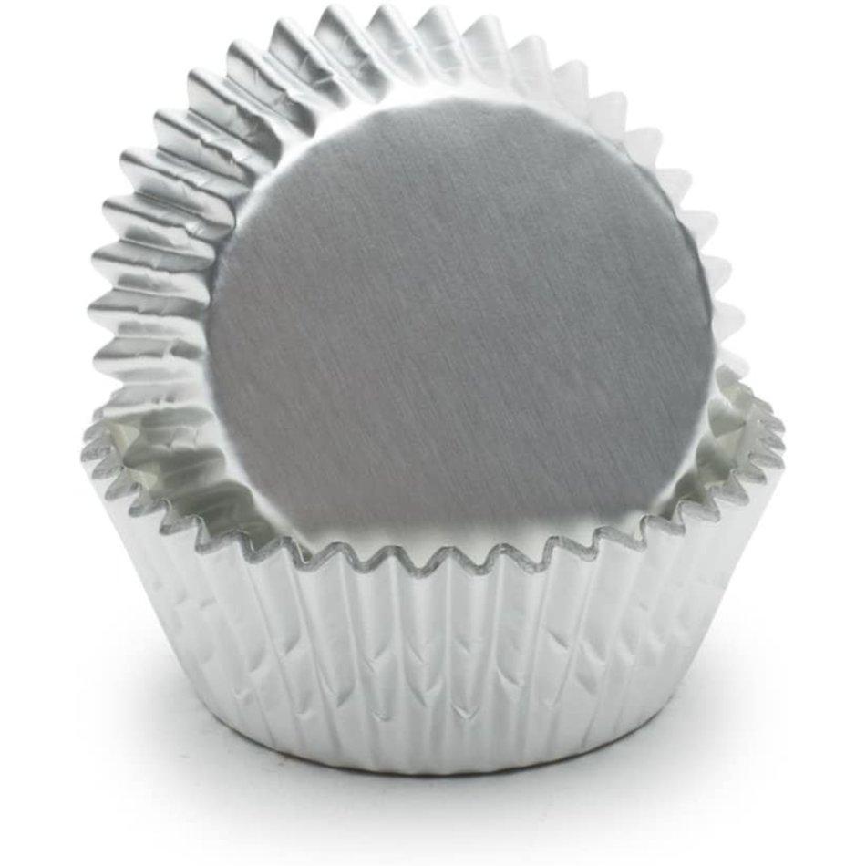 Fox Run Silver Foil Standard Cupcake Cups