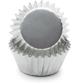 Fox Run Silver Foil Mini Cupcake Cups