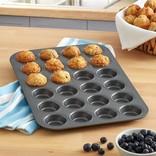 Chicago Metallic Chicago Metallic Mini Muffin Pan, 24-Cup