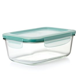 OXO Good Grips OXO SmartSeal 8 Cup Rectangular Container, Glass