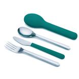 Joseph Joseph Joseph Joseph GoEat Cutlery Set & Case Teal