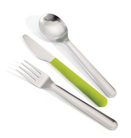 Joseph Joseph GoEat Cutlery Set & Case Green