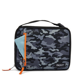 PACKIT Packit Classic Lunch Box, Black Camo