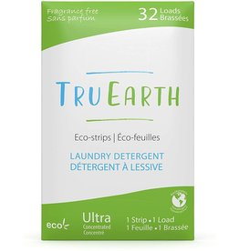 TruEarth Eco-Strips Laundry Detergent, Fragrance-Free