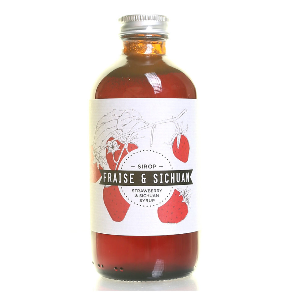 Les Charlatans Les Charlatans Strawberry & Sichuan Syrup