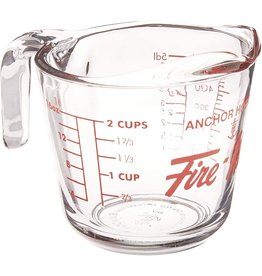 Anchor Anchor Hocking Glass Measuring Cup, 2 Cup