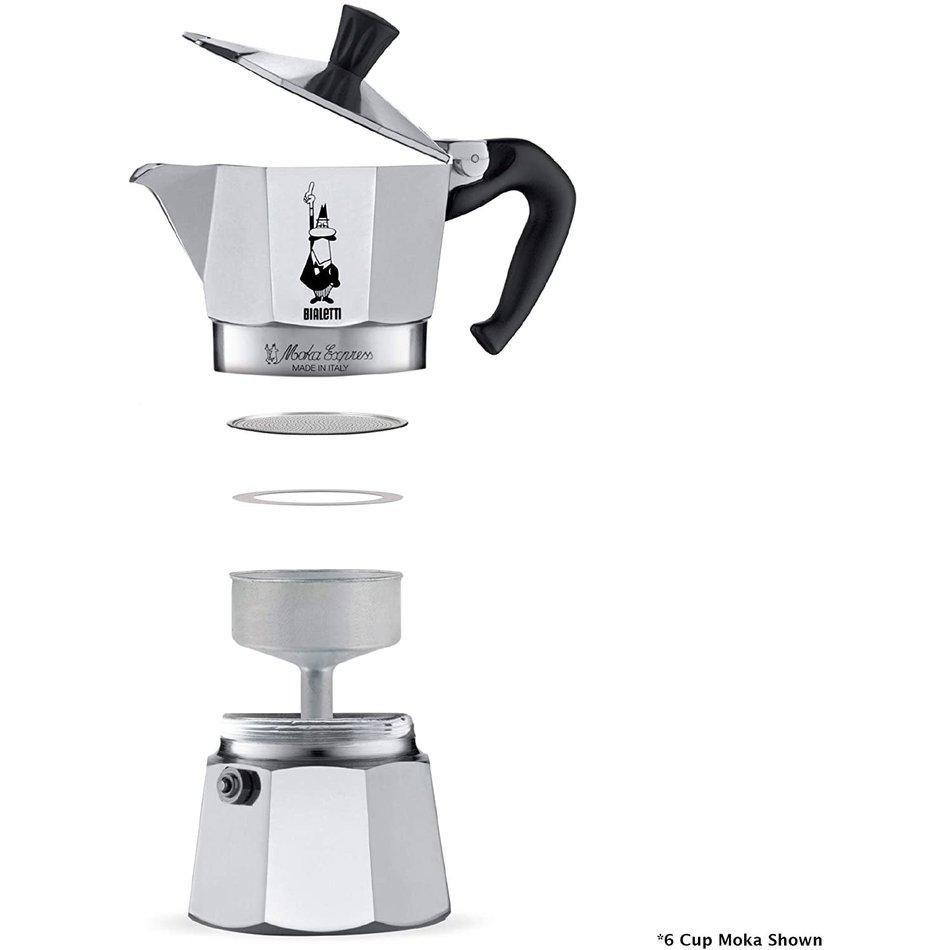 Bialetti Bialetti Moka Coffee Pot, 6-cup