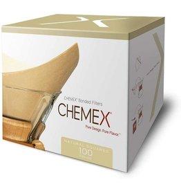 Chemex Chemex Unbleached Filter Squares, 100 Pack