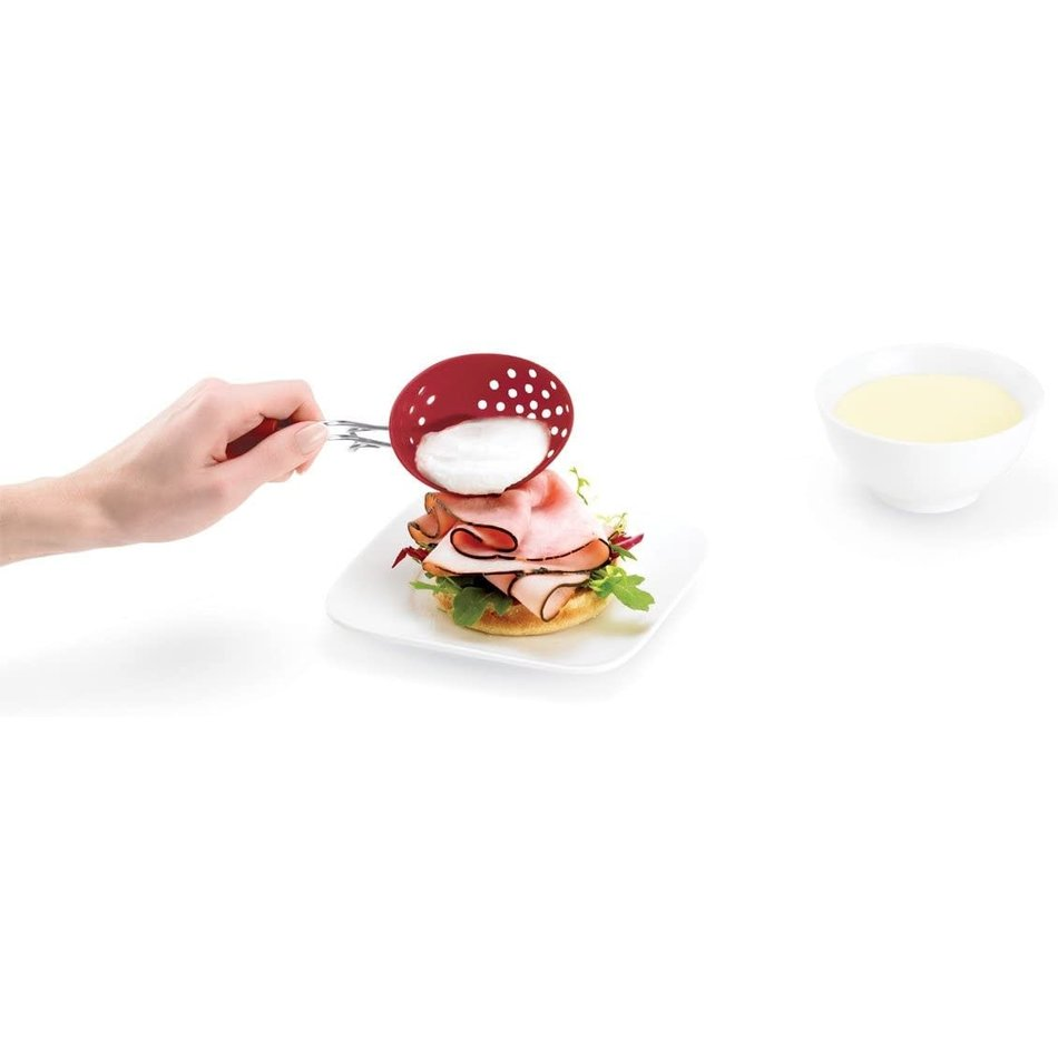 Cuisipro Cuisipro Egg Poacher, Silicone, Set of 2