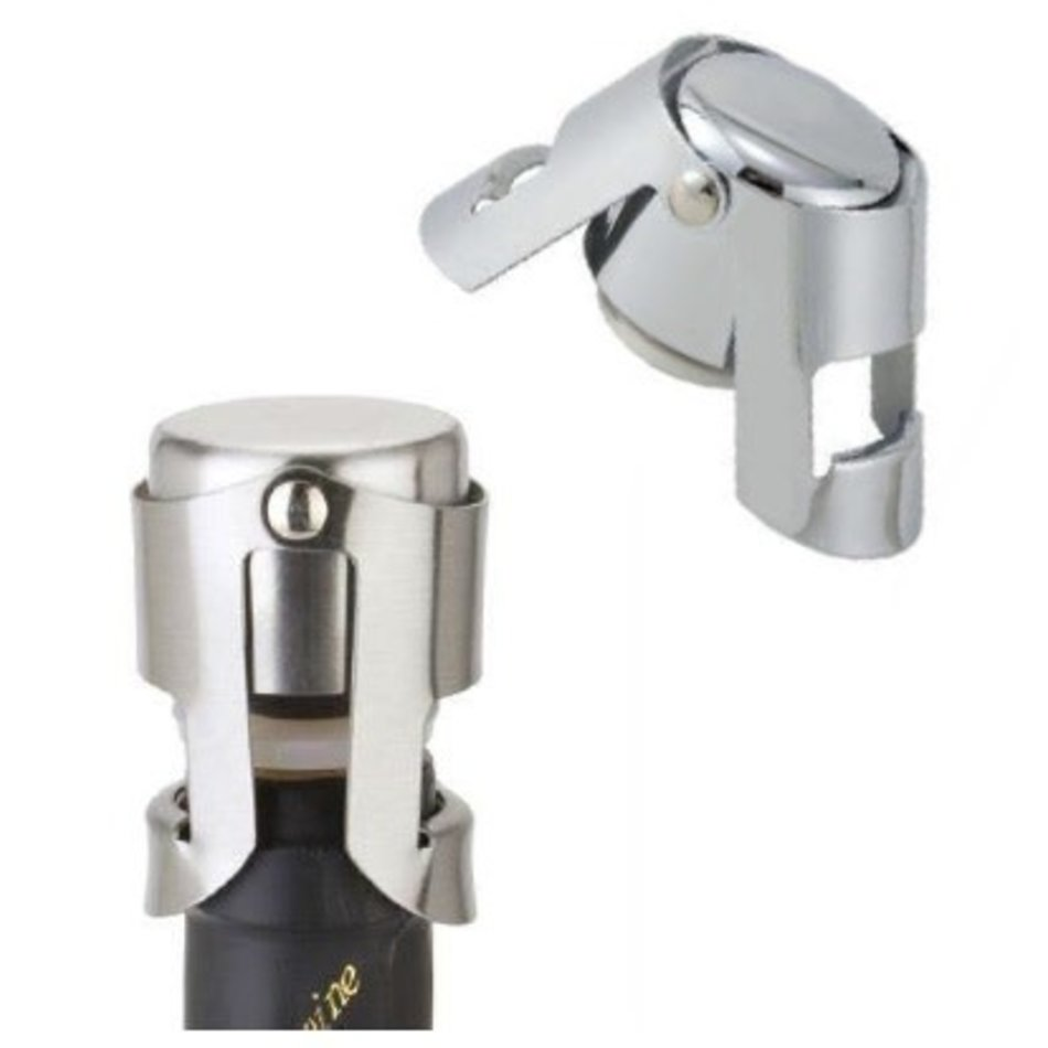 Cuisivin Cuisivin Champagne Stopper, Stainless Steel