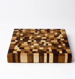 Emerson Pringle End Grain Cutting Board, Mosaic