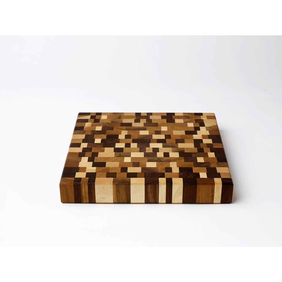 Emerson Pringle End Grain Cutting Board, Mosaic