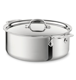 All Clad All Clad Stainless Stockpot, 6QT