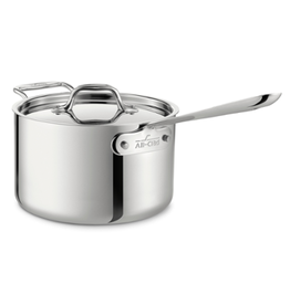 All Clad All Clad Stainless Sauce Pan, 4QT
