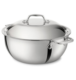 All Clad All Clad Stainless Dutch Oven, 5.5 QT