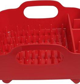 Umbra Umbra Tub Dish Rack, Red