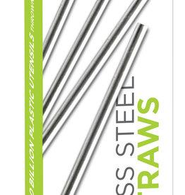 uKonserve uKonserve Stainless Steel Mini Straws 4-Pack