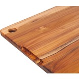 """Teakhaus Teakhaus Cutting Board, 18""""x14"""" with Juice Groove"""