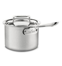 All Clad All Clad Brushed D5 Sauce Pan, 2QT