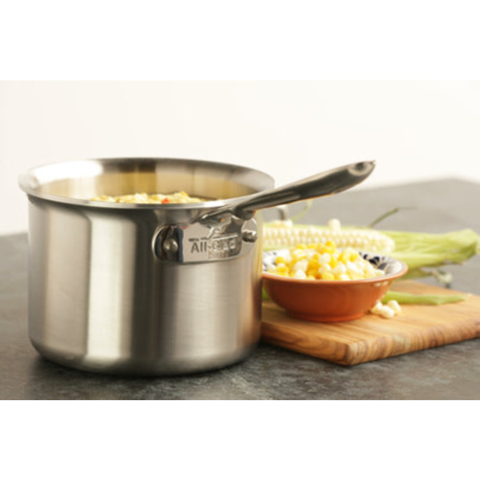 All Clad All Clad Brushed D5 Saucepan, 2QT