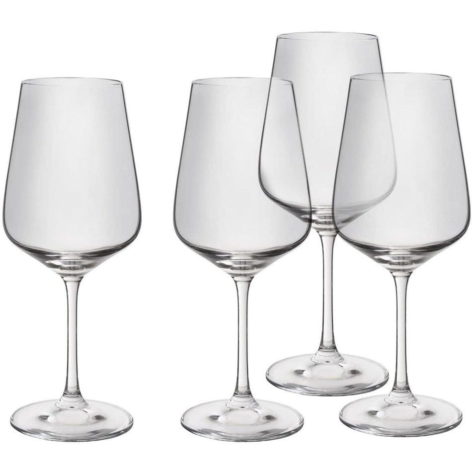 Trudeau Splendido Wine Glasses, 21oz, Set of 4
