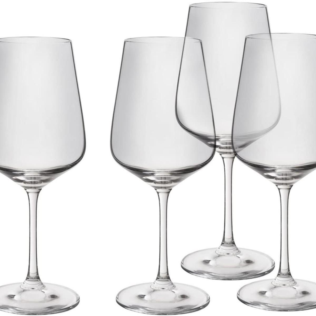 Trudeau Splendido Wine Glasses, 16oz, Set of 4