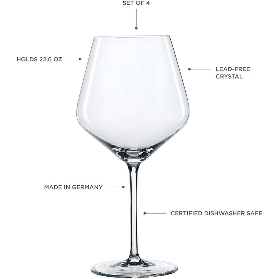 Spiegelau Spiegelau Style Burgundy, Set of 4