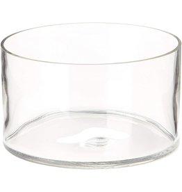 Simplicity Glass Salad Bowl