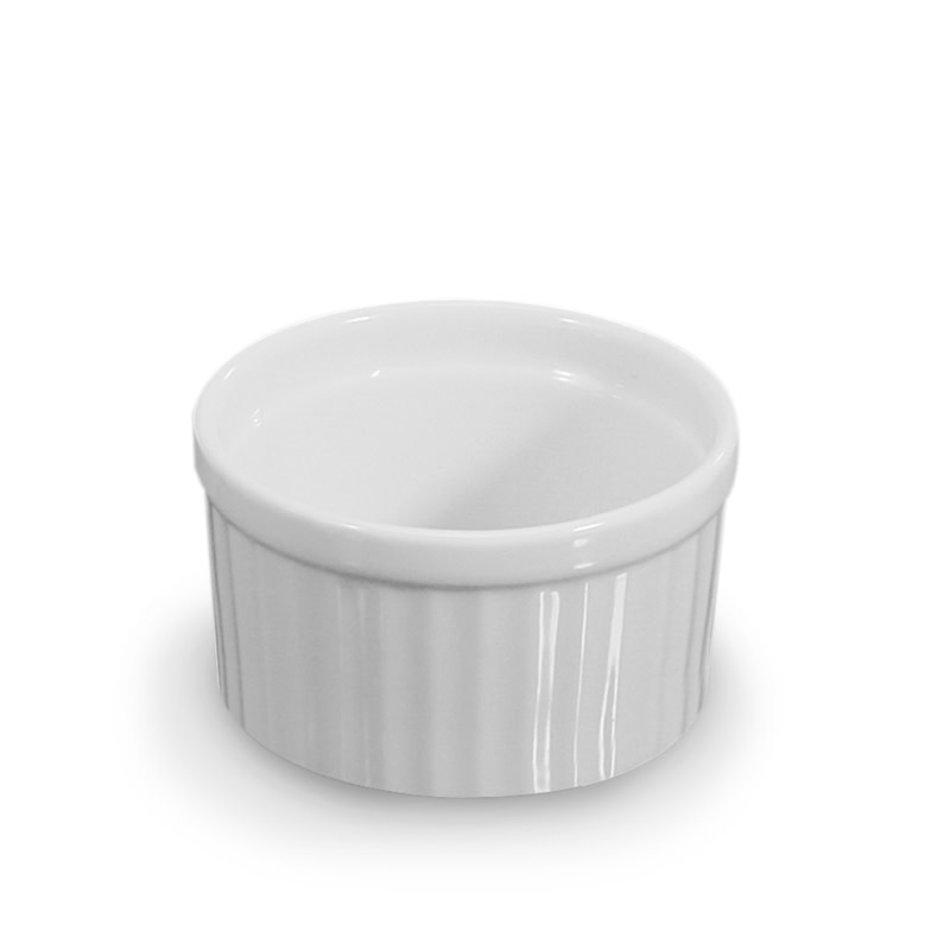 BIA Round Ramekin, 3oz, White