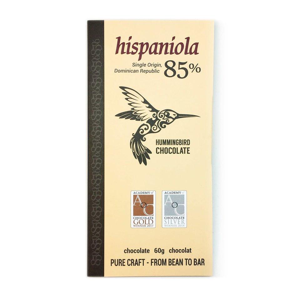 Hummingbird Chocolate Hummingbird Chocolate, Hispaniola 85%