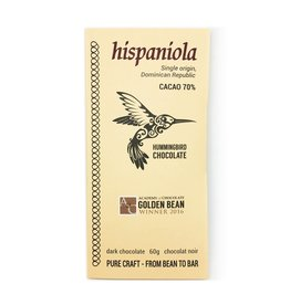 Hummingbird Chocolate Hummingbird Chocolate, Hispaniola 70%