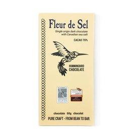 Hummingbird Chocolate Hummingbird Chocolate, Fleur de Sel 70%