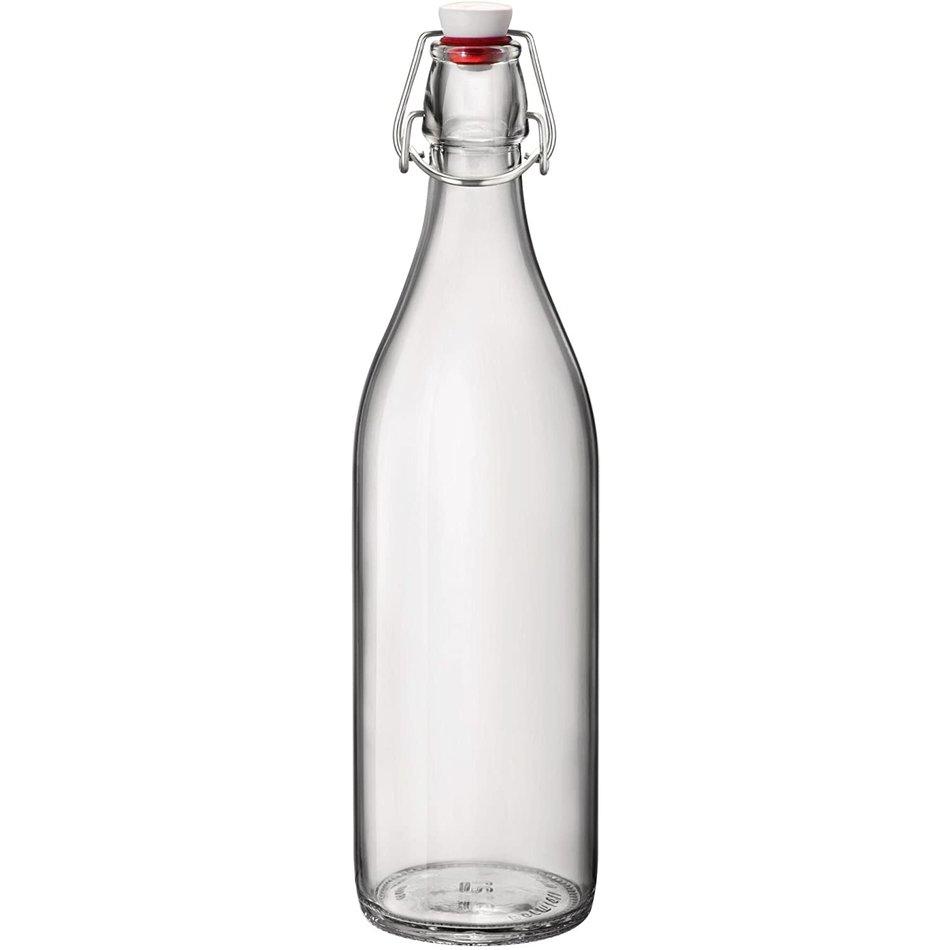 Trudeau Giara Clear Bottle