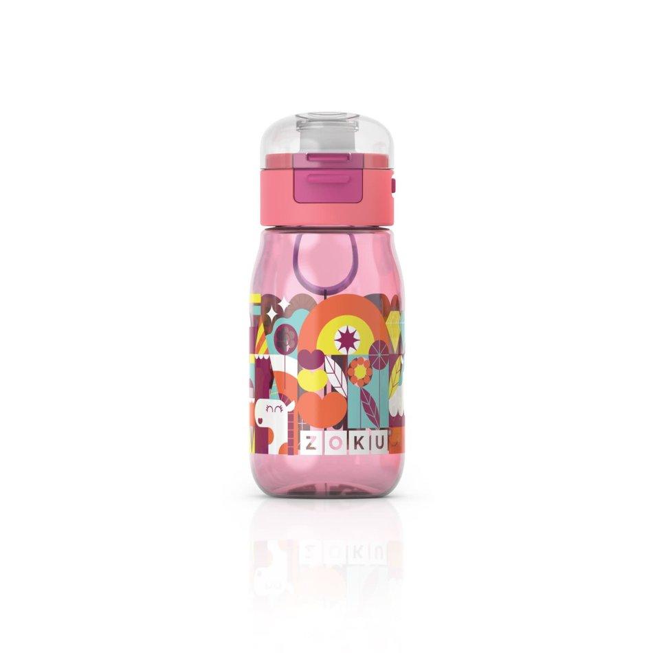 ZOKU Zoku Kids Flip Gulp, Pink
