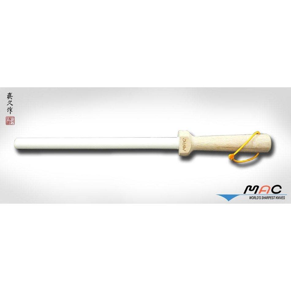 "MAC MAC Ceramic Honing Rod, 800 grit, 8.5"""