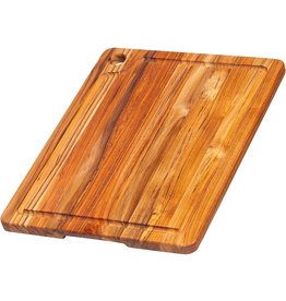 """Teakhaus Teakhaus Cutting Board, 16""""x12"""" with Juice Groove"""