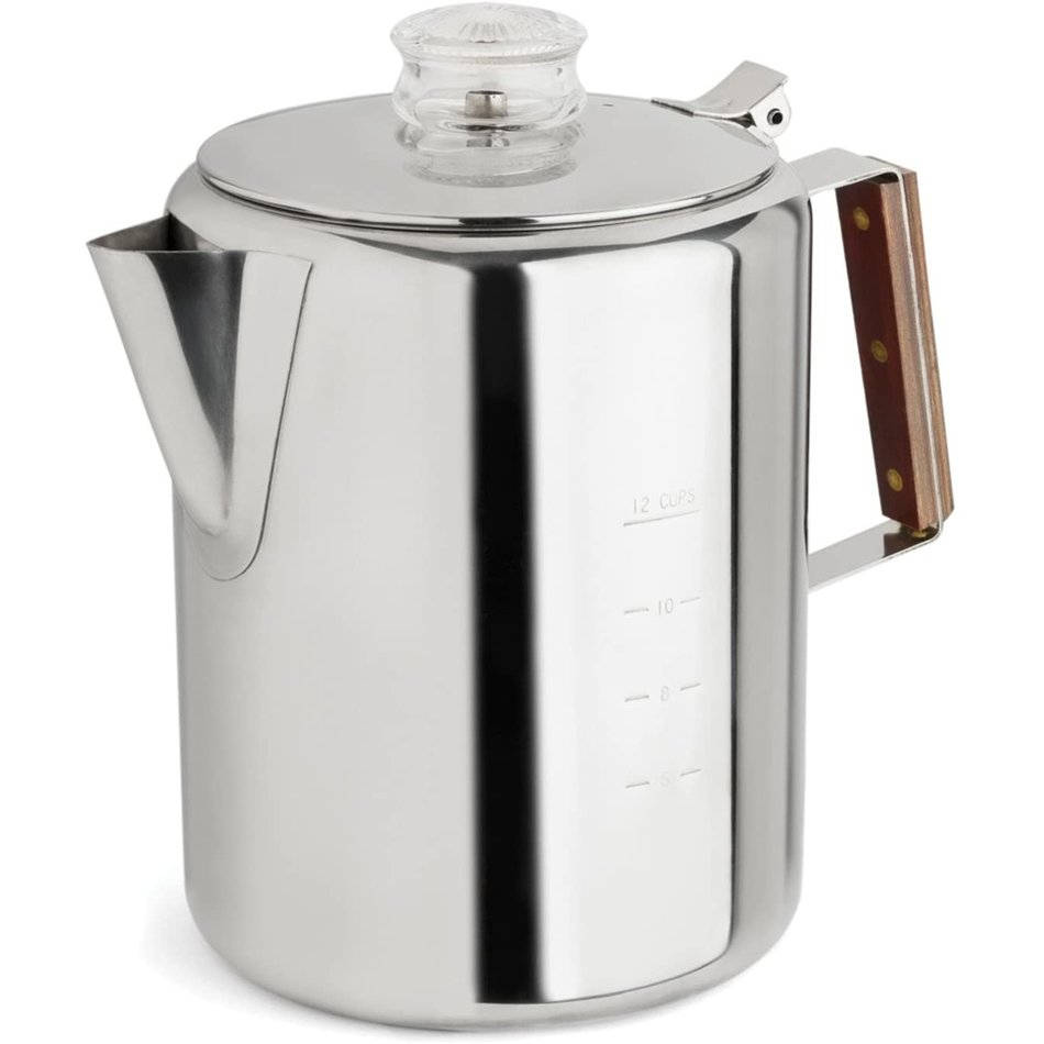 Percolator Stainless Steel, 12-Cup