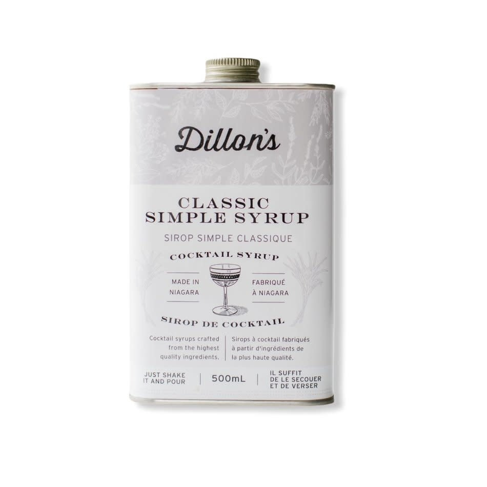 Dillon's Simple Syrup
