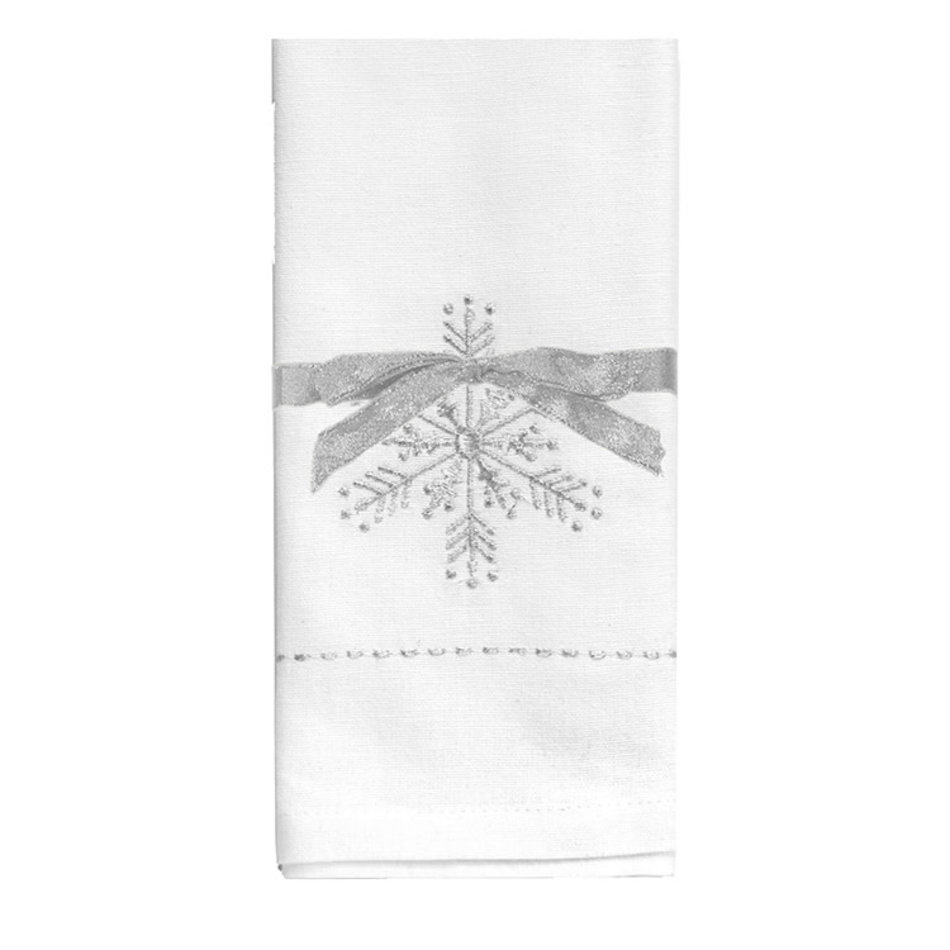 Snowflake Napkins, Set of 4