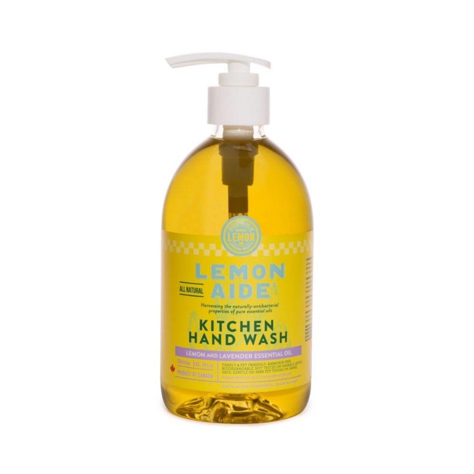 Lemon Aide, Lemon & Lavender Kitchen Hand Wash, 500ml