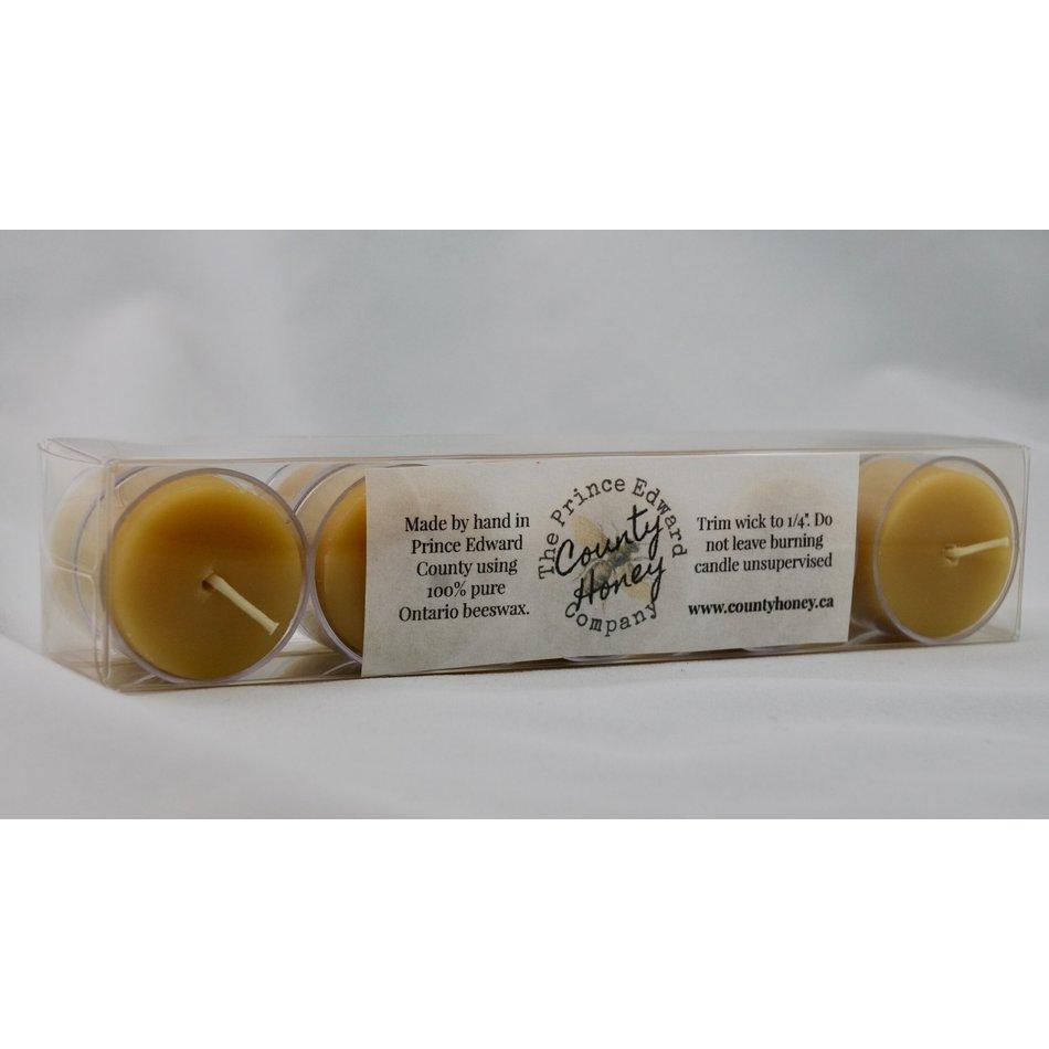 PEC Honey Company Tealights, Box of 10