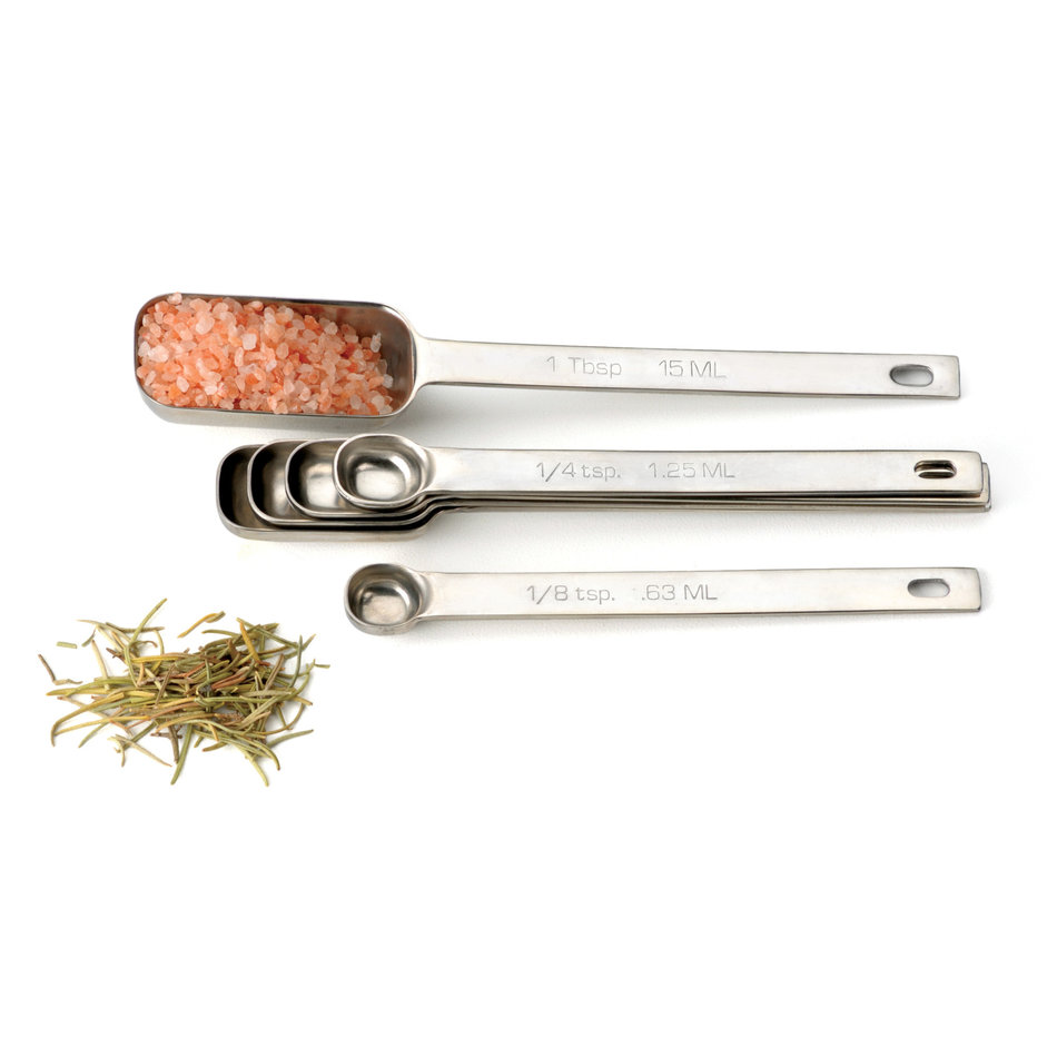 RSVP Endurance Spice Spoons, Set of 6