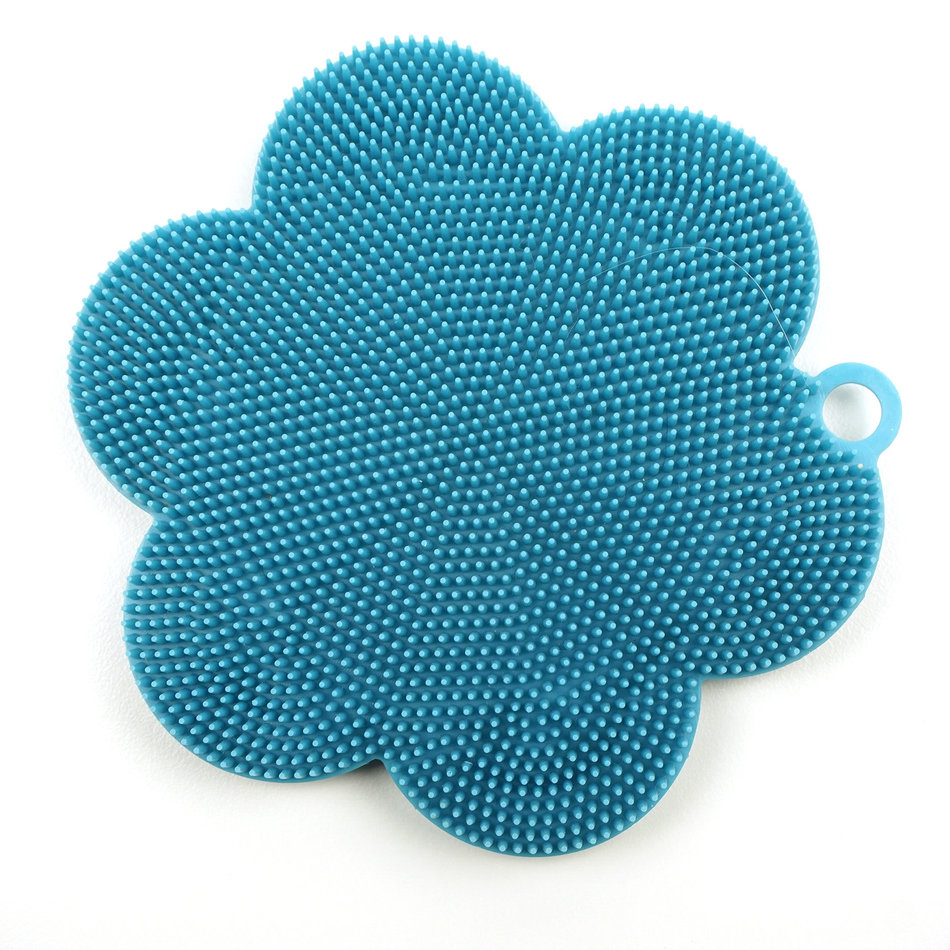 RSVP Sili Soft Scrubber, Turquoise