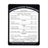RSVP Removable Cooking Temp Label