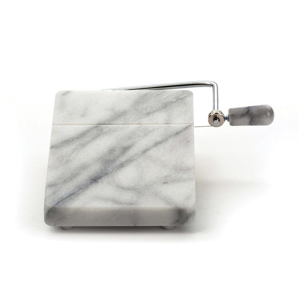 RSVP White Marble Cheese Slicer