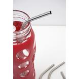 "RSVP RSVP Stainless Steel Straws, 10.5"", Set of 4"