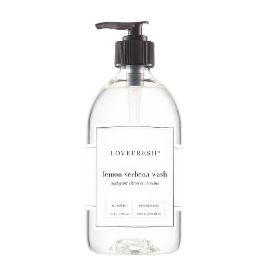 LOVEFRESH Hand & Body Wash, Lemon Verbena