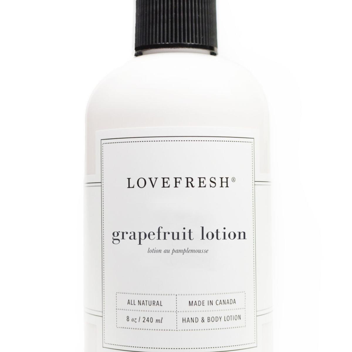 LOVEFRESH LOVEFRESH Hand & Body Lotion, Grapefruit